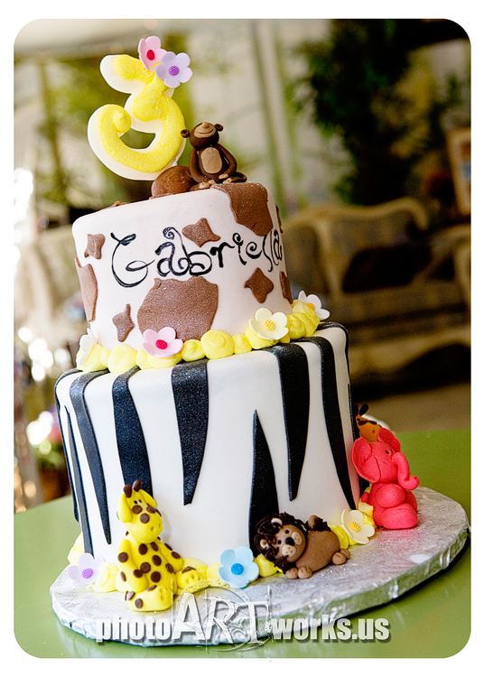 Jungle Girl Cake