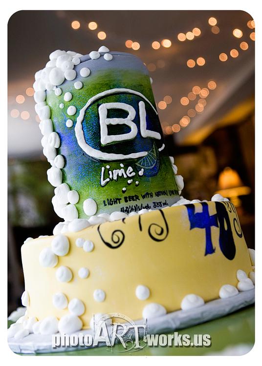 Bud Lime Cake