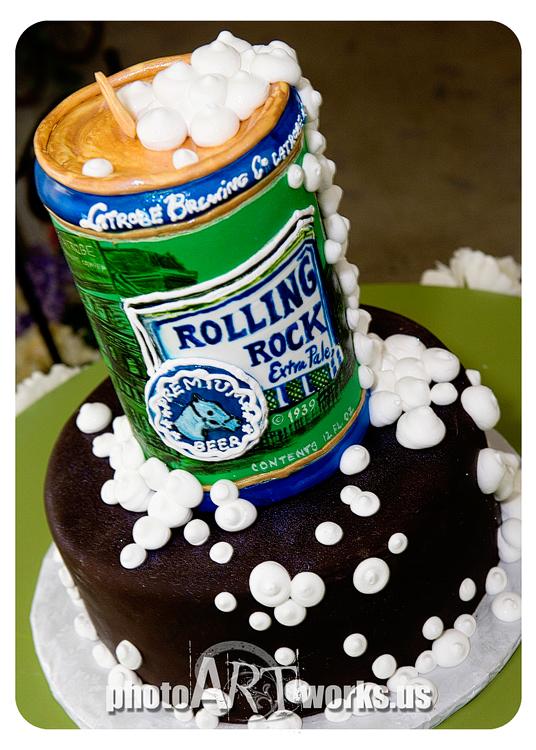 Rolling Rock Cake
