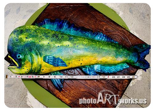 3-D Dolphin Fish Cake